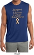 Support Uterine Cancer Dry Wicking Sleeveless Shirt