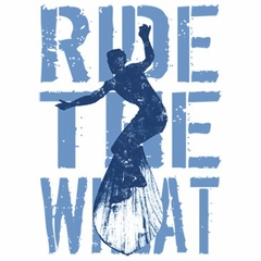 Surfer T-shirts - Ride the Wheat Surfing Adult Tee Shirts