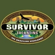 Survivor American T-Shirt - Tocantins Logo Adult Military Green