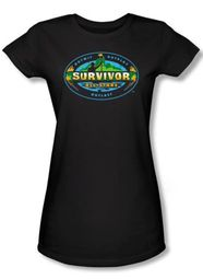 Survivor Juniors T-Shirt � All Stars Black
