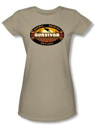 Survivor Juniors T-Shirt -Australian Outback Safari Green