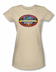 Survivor Juniors T-Shirt – Cook Island Cream