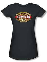 Survivor Juniors T-Shirt � Fiji Charcoal