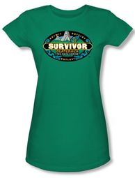 Survivor Juniors T-Shirt � Guatemala Kelly Green