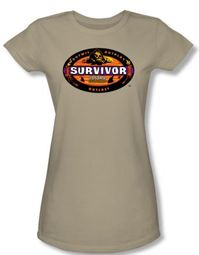 Survivor Juniors T-Shirt - Panama Sand