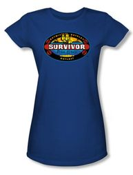 Survivor Juniors T-Shirt � Pearl Islands Royal Blue