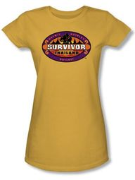 Survivor Juniors T-Shirt - Thailand Gold