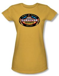 Survivor Juniors T-Shirt � Vanuatu Gold