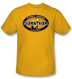 Survivor Kids T-Shirt - Gold Burst Gold Youth