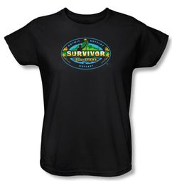 Survivor Ladies T-Shirt � All Stars Black