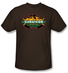 Survivor T-Shirt  - Africa Adult Coffee