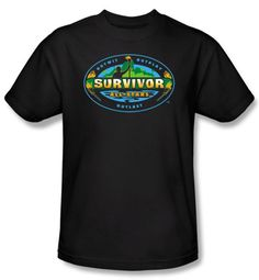 Survivor T-Shirt  - All Stars Adult Black