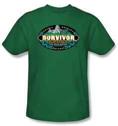 Survivor T-Shirt  - Guatemala Adult Kelly Green