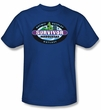Survivor T-Shirt  - Marquesas Adult Royal Blue