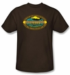 Survivor T-Shirt  - Micronesia Adult Coffee