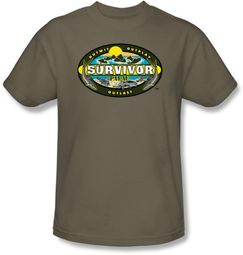 Survivor T-Shirt - Palau Adult Safari Green