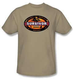Survivor T-Shirt  - Panama Adult Sand