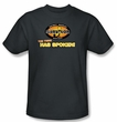Survivor T-Shirt  - The Tribe Has Spoken Adult Charcoal
