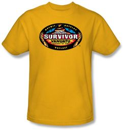 Survivor T-Shirt  - Vanuatu Adult Gold