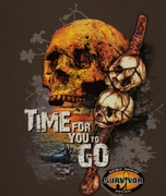 Survivor Time To Go Shirts