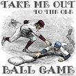 Take Me Out to the Ole Ball Game Classic Baseball T-shirt Tee Shirt
