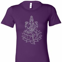 Tara Sketch Ladies Yoga Shirts