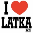 Taxi T-Shirt - I Heart Latka Adult White