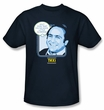 Taxi T-Shirt - Shut Your Trap Adult Navy