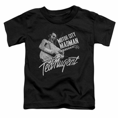Ted Nugent Kids Shirt Madman Black T-Shirt