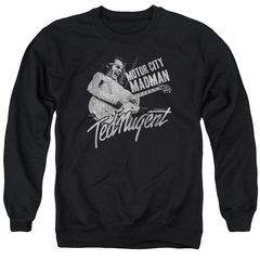 Ted Nugent Sweatshirt Madman Adult Black Sweat Shirt