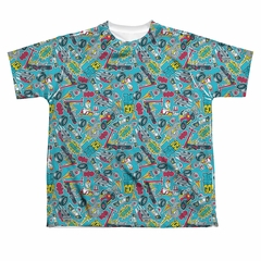 Teen Titans Go Shirt Pattern Sublimation Youth Shirt