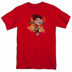 Teen Titans Go Shirt Robin Red T-Shirt