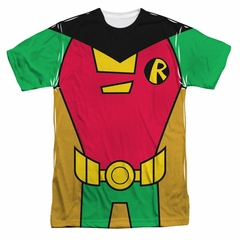 Teen Titans Go Shirt Robin Uniform Sublimation Shirt