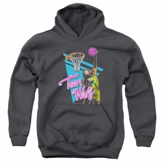 Teen Wolf Kids Hoodie Slam Dunk Charcoal Youth Hoody