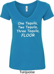 Tequila Ladies V-Neck Shirt