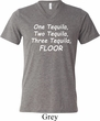 Tequila Mens Tri Blend V-neck Shirt