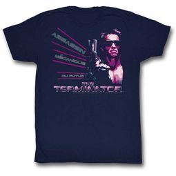 Terminator Shirt Assassin Navy T-Shirt