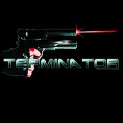 Terminator Shirt Blam Adult Black Tee T-Shirt