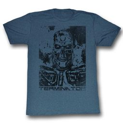 Terminator Shirt Distressed Photo Slate T-Shirt