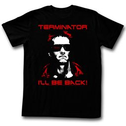 Terminator Shirt I'll Be Back Black T-Shirt
