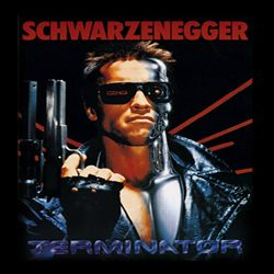 Terminator Shirt Schwarz Adult Black Tee T-Shirt