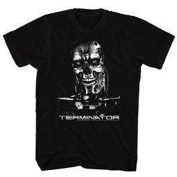 Terminator Shirt Smile Black T-Shirt