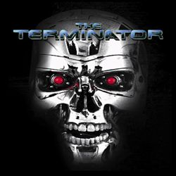 Terminator Shirt The Terminator Adult Black Tee T-Shirt