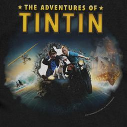 The Adventures Of Tintin Journey Shirts