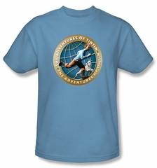 The Adventures Of Tintin Kids T-Shirt – Around The Globe Carolina Tee