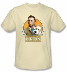 The Adventures Of Tintin T-Shirt – Buddies Cream Adult Tee Shirt