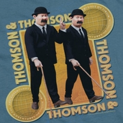 The Adventures Of Tintin Thompson & Thompson Shirts