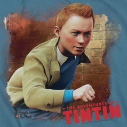 The Adventures Of Tintin Title Shirts