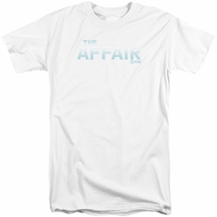 The Affair Shirt Logo White Tall T-Shirt