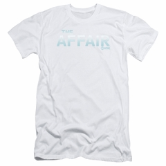 The Affair Slim Fit Shirt Logo White T-Shirt